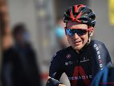 Tao Geoghegan Hart is uit Parijs-Nice gestapt na een valpartij in het slot van de vierde etappe
