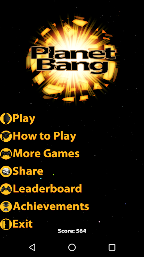 Planet Bang- screenshot