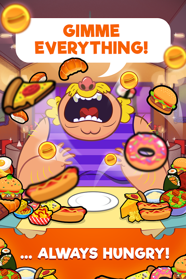 Feed the Fat - All You Can Eat Buffet Clicker Game- screenshot