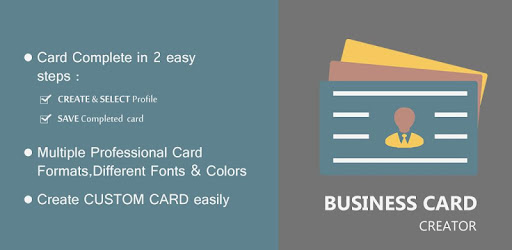 Business card creator apps on google play reheart Gallery