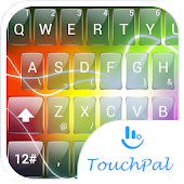 Theme TouchPal Glass Electric
