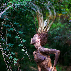Muddy girl by Nick Soefje - People Portraits of Women ( hi-tech-photography.com )