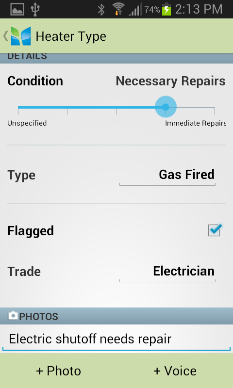 Imfuna Home Inspector- screenshot