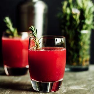 Pomegranate Apple Cider Spritzer