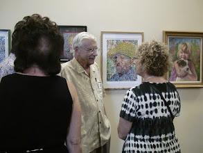 Photo: Les Sher / 4-21-13 Les & Sydelle Art exhibit at Weissman Ctr