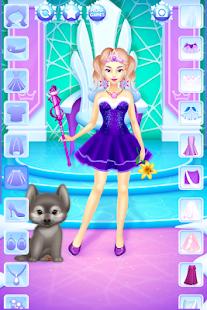 Oblíkací hry ledová princezna - náhled
