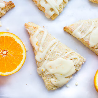 Glazed Orange Scones Recipe