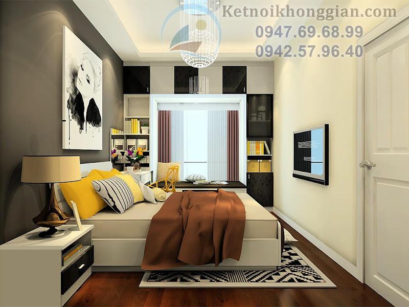 thiết kế phòng ngủ hiện đại 12