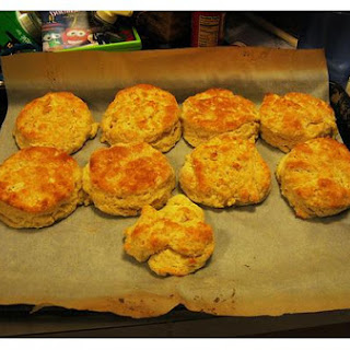 Buttermilk Drop Biscuits.