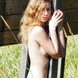 Farmer's Daughter  by Todd Reynolds - Nudes & Boudoir Artistic Nude
