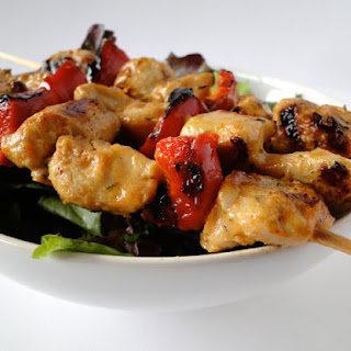 Shish Taouk - Grilled Chicken kebabs