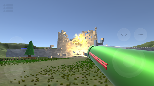 kaboom! 3d - shooting & physics simulation game! screenshot 1
