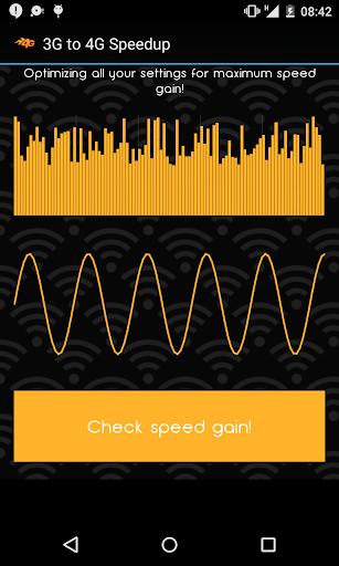 3G to 4G Speedup Sim