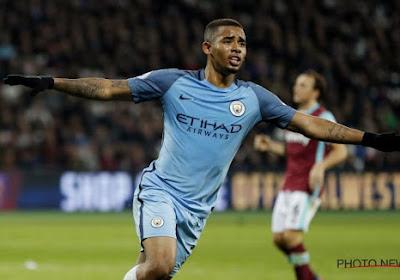 Gabriel Jésus étonné par ses débuts à Manchester City