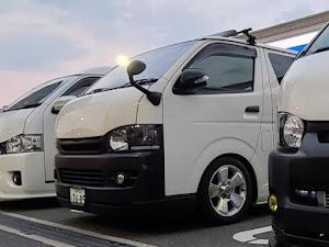 ハイエース TRH200V SUPER GL 2018年式のカスタム事例画像 keiji@黒バンパー愛好会さんの2020年06月16日21:53の投稿