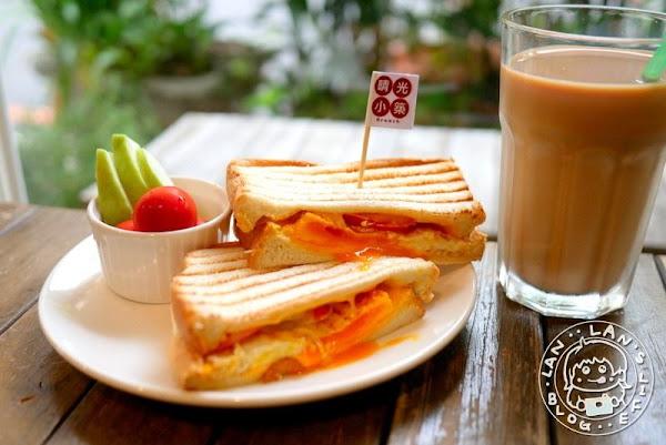 林家花園早午餐 【晴光小築】板橋早午餐 義大利麵 燉飯 手作熊吐司