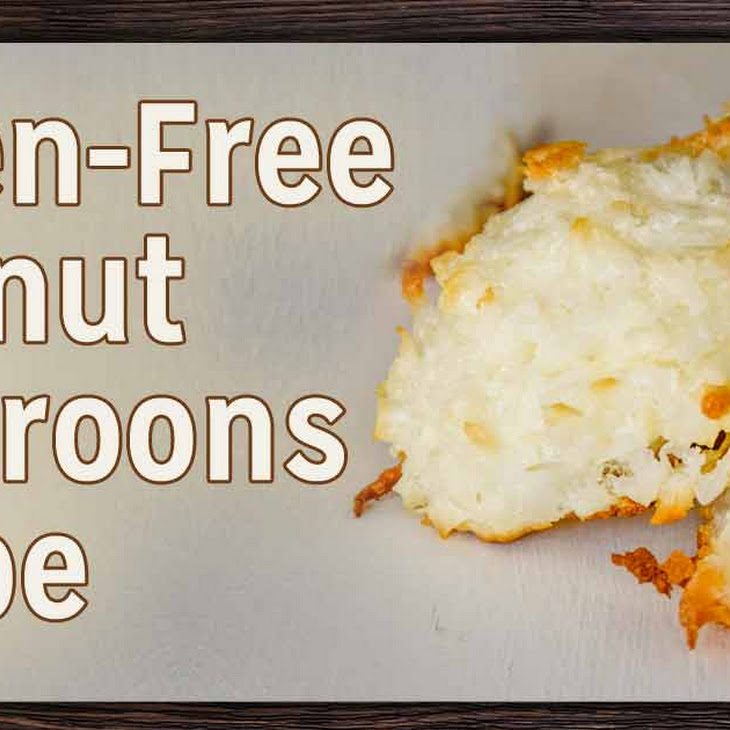 Satisfying Gluten-Free Coconut Macaroons