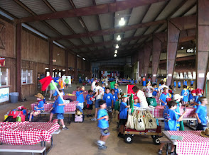 Photo: HFR day camp tables