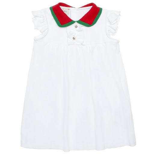 Primary image of Gucci Baby Cotton Dress