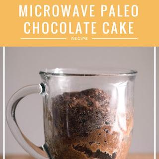 5-Min Microwave Paleo Chocolate Cake Recipe [Paleo, GF]