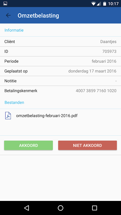 Cooster app- screenshot