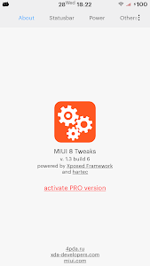 MIUI Tweaks PRO Activator screenshot 0