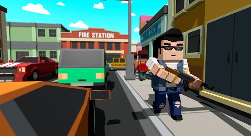Télécharger Gratuit Pixel Gangster && Mafia Block City Dude Theft Car mod apk screenshots 5