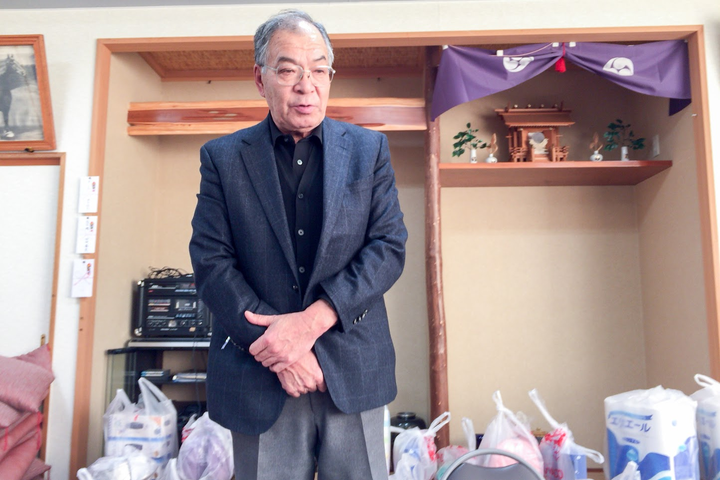 西川町内会・吉田勉 会長のご挨拶