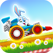 Happy Easter Bunny Racing