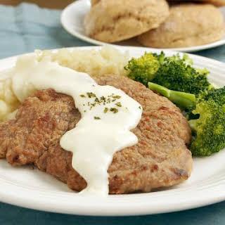 Chicken Fried Venison Steak.
