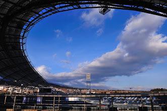Photo: A peep into Seowipo World Cup Stadium.