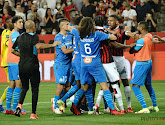 📷 Bagarre générale in Nice-Marseille: hallucinante beelden van fans die spelers achterna zitten