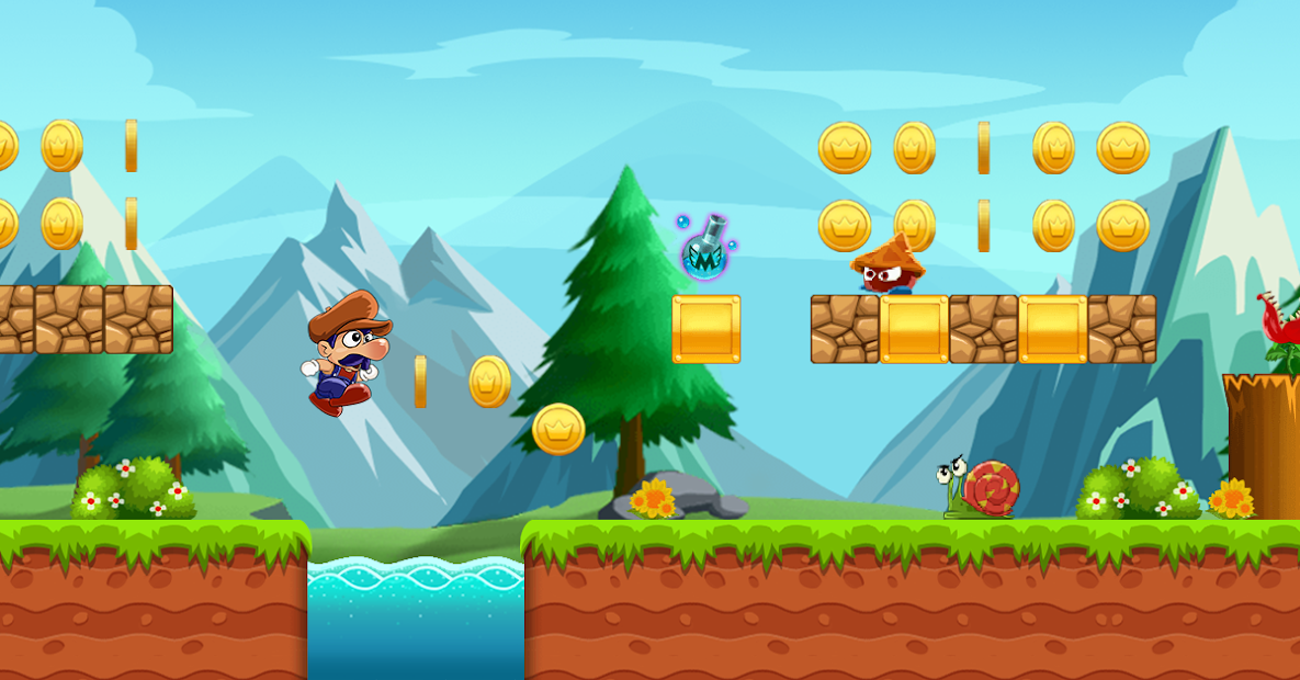 Super Bino Go - New Adventure Game 2020 Android App Screenshot