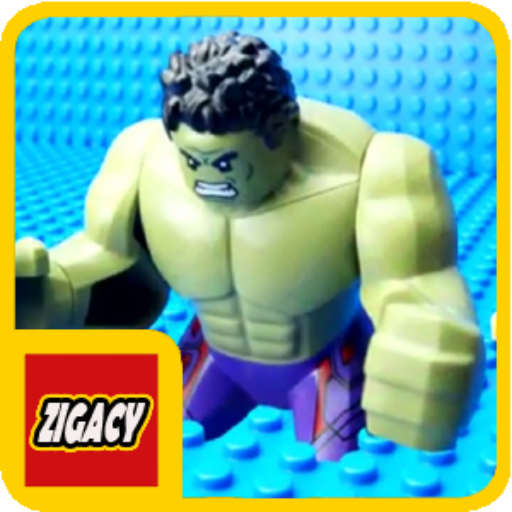 Zigacy LEGO Monster Shark Battle