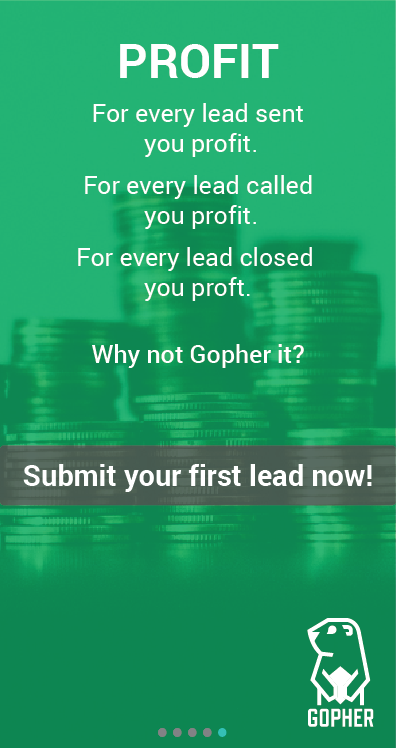Gopher Leads- screenshot