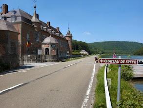 Photo: Das Chateau Freyr ist die ehemalige Sommerresidenz der Herzöge Beaufort-Spontin
