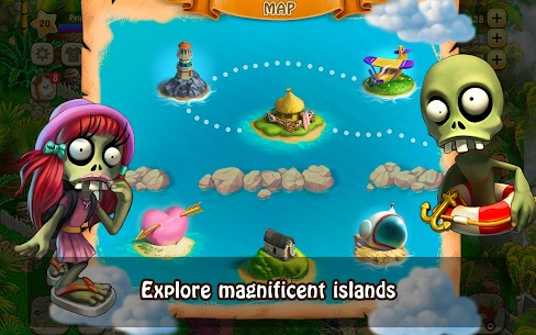 Zombie Castaways Mod Apk (Unlimited Money + No Ads) 4.16.1 4
