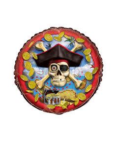 Folieballong,  pirat