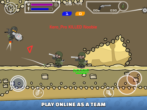 Mini Militia - Doodle Army 2  screenshots 16