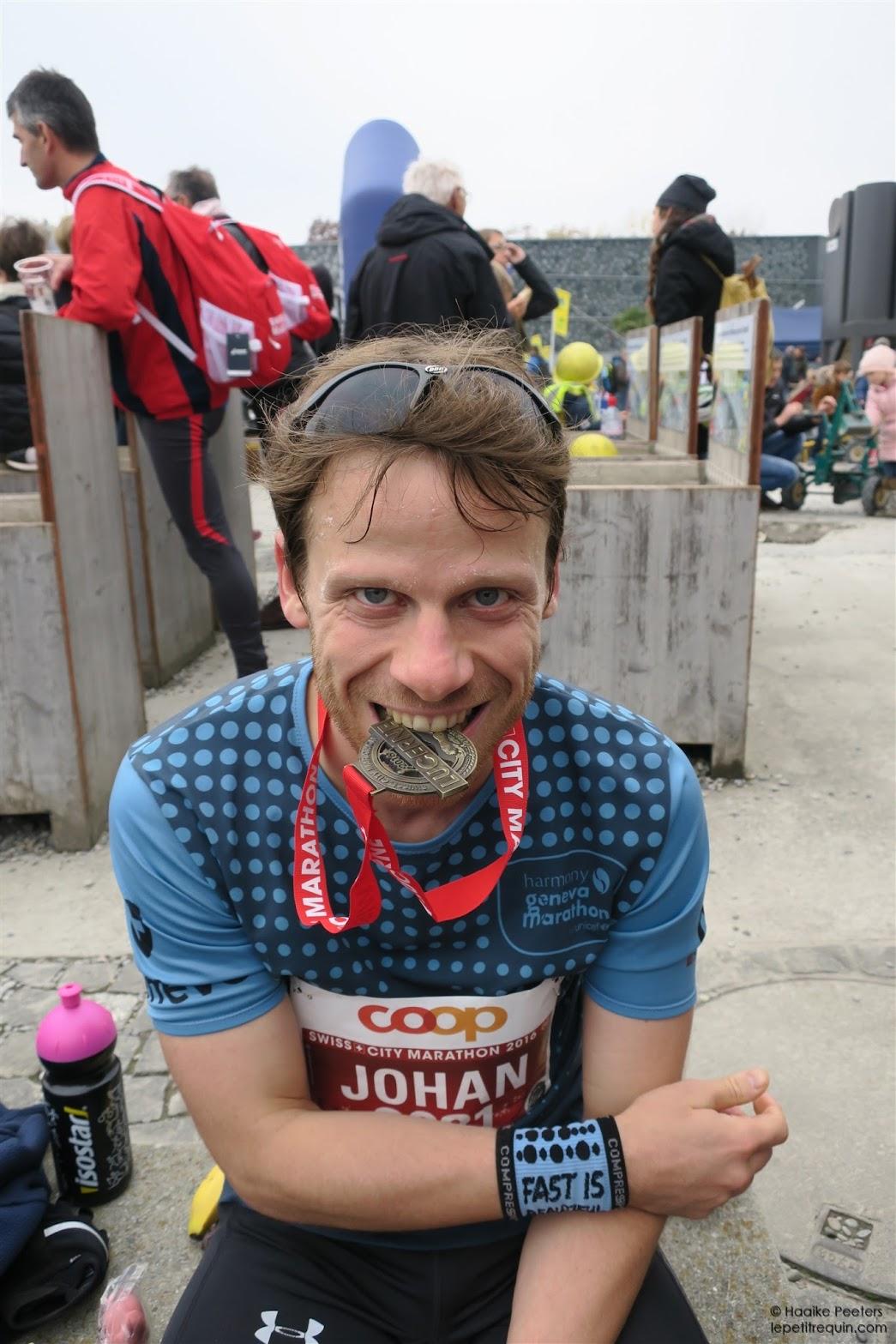 Marathon Luzern (Le petit requin)