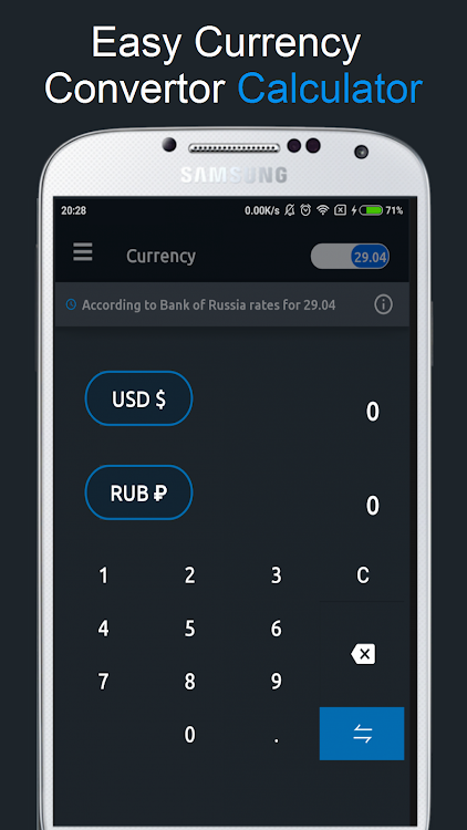 Currency Rates Russia Android S