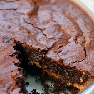Chocolate Peanut Butter Chess Pie.