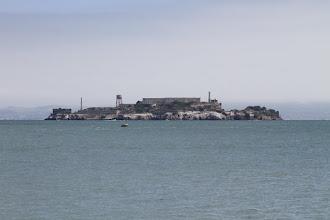 Photo: The infamous Alcatraz prison in San Francisco Bay.