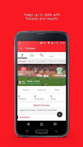 Fan App for Exeter City FC