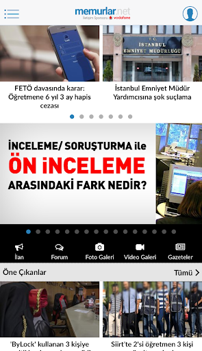 Memurlar.net screenshot 2