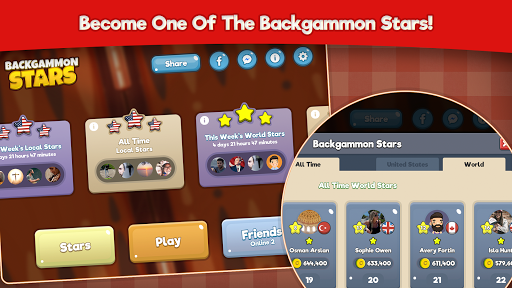Backgammon Stars, Tavla modavailable screenshots 8