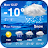 New Weather App & Widget for 2019 Icône