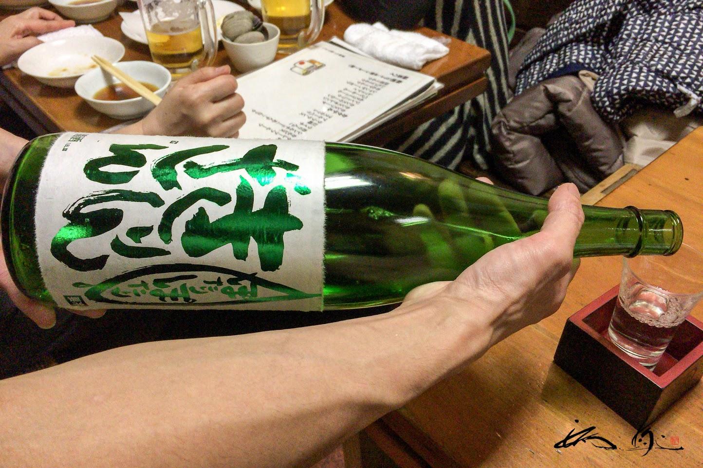 新潟銘酒「ぽたりぽたりきりんざん」