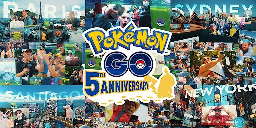 [官方活動]Pokemon GO公開5週年紀念影片!