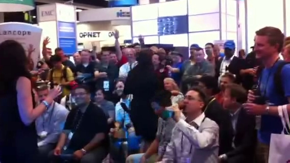 Video: Booth activity at Cisco Live 2012